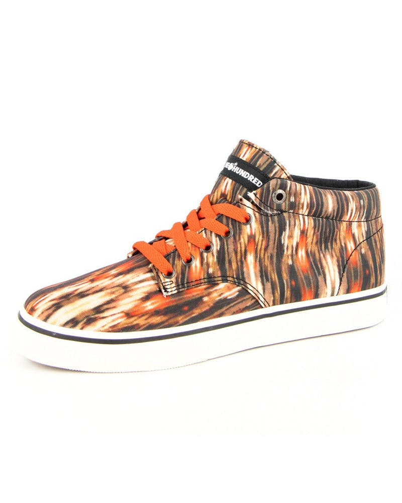 Johnson Mid Ikat Brown/orange