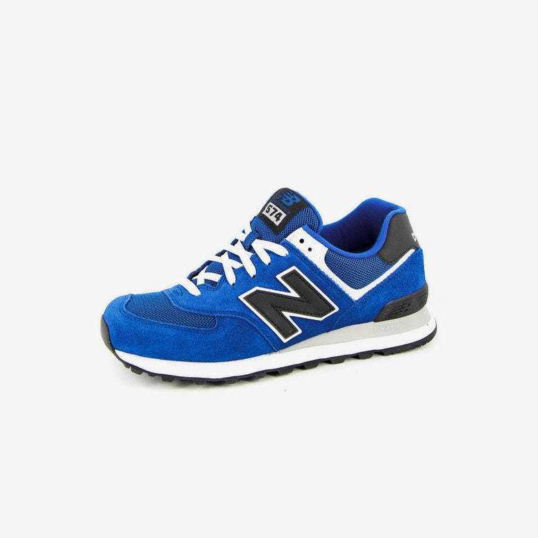 NB 574 Traditionals Blue/white/blac