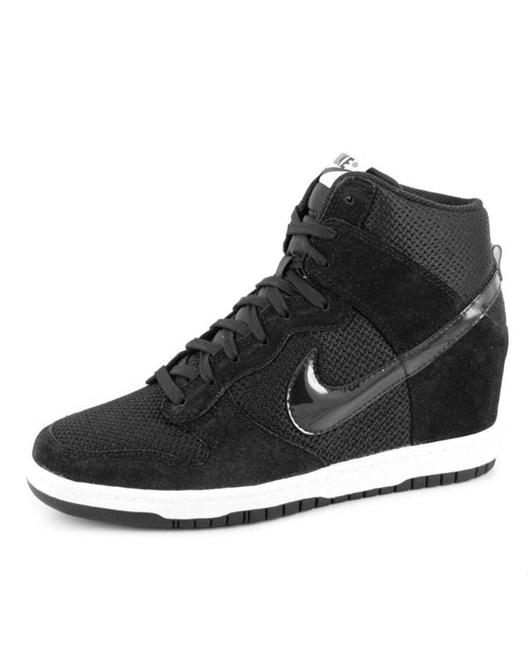 outlet store 70468 2ef74 Nike Womens Dunk Sky HI Essent Black white – Culture Kings