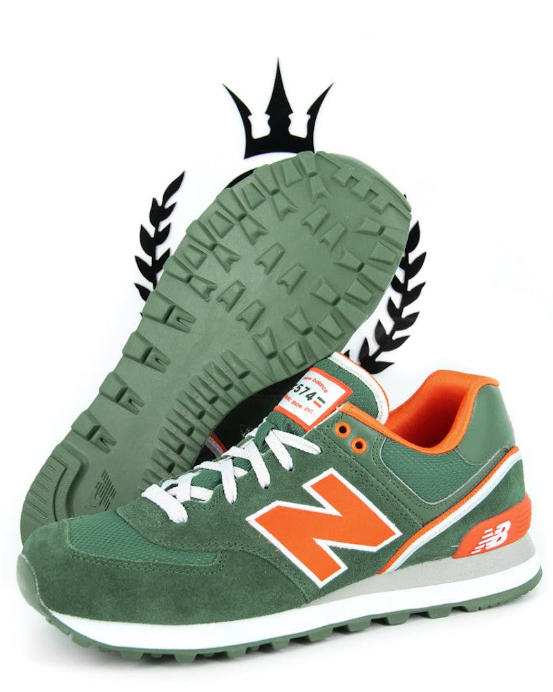 ML 574 Classic 3 Green/orange/si