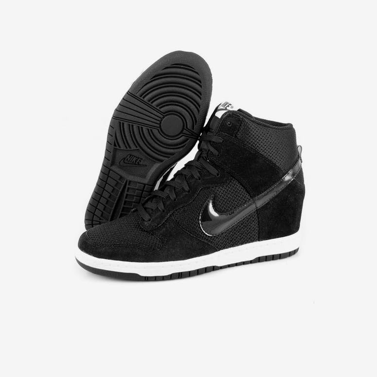 cb62c4648c39 Nike Womens Dunk Sky HI Essent Black white – Culture Kings