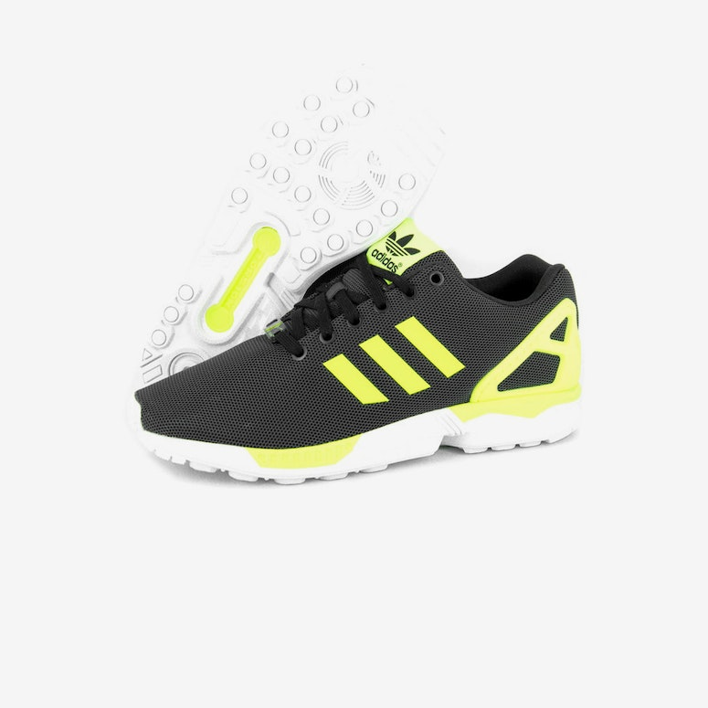 ZX Flux Black/yellow