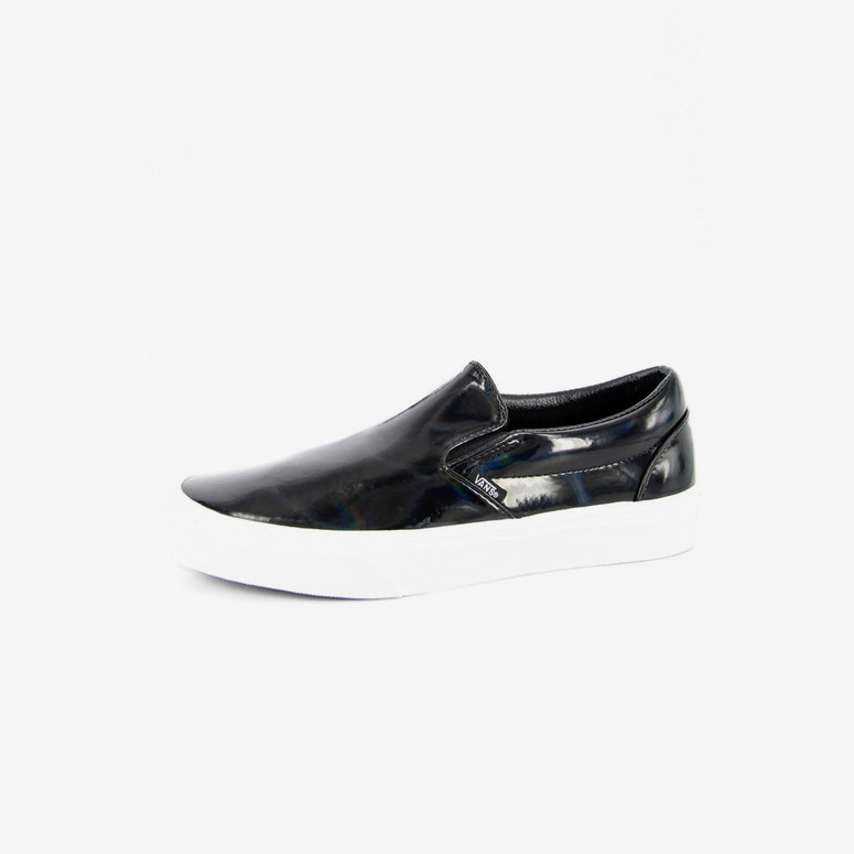a6b5d0427998d5 Vans Classic Slip On Leather Black – Culture Kings