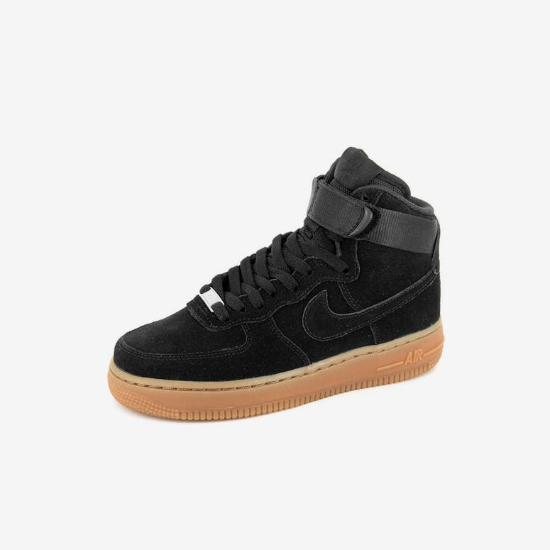 0ec4c27386c49 Nike Womens Air Force 1 HI Suede Black black – Culture Kings