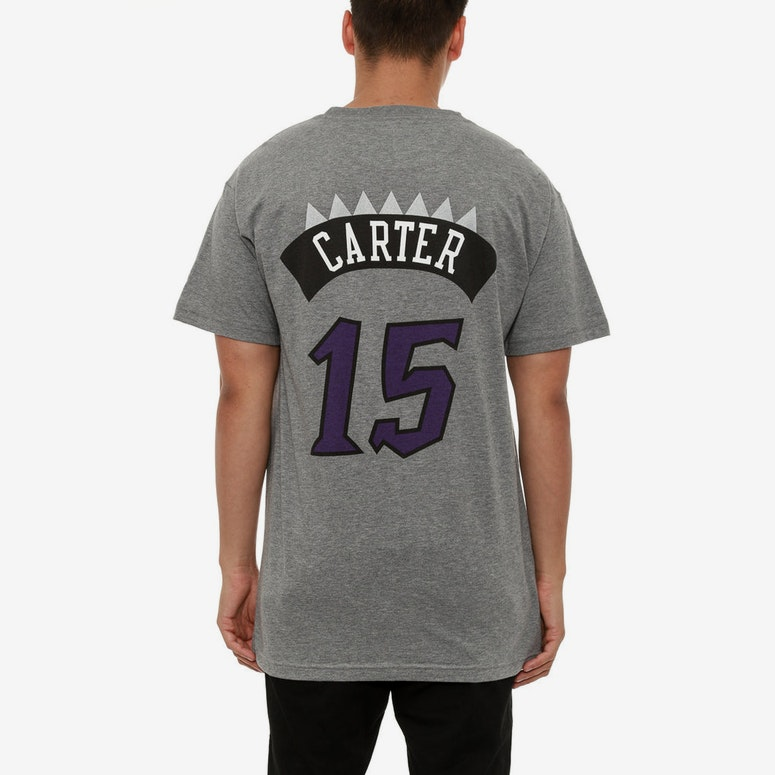 Raptors Carter 15 Tee Grey