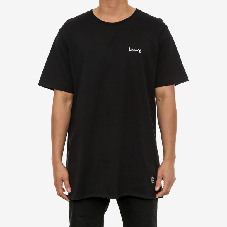Roundabout Tee Multiple Black