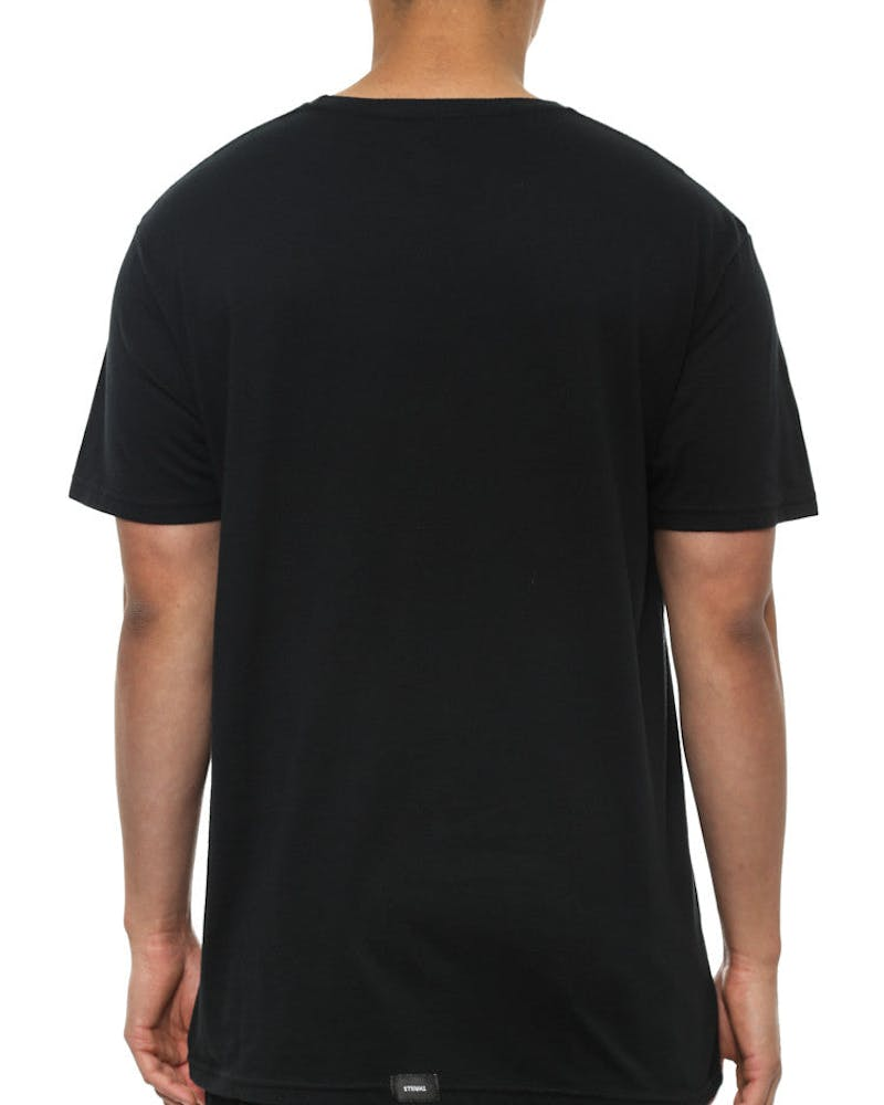 Block Out Tee Black