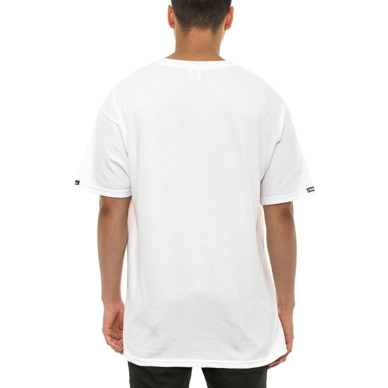 Interlaced Medusa Tee White