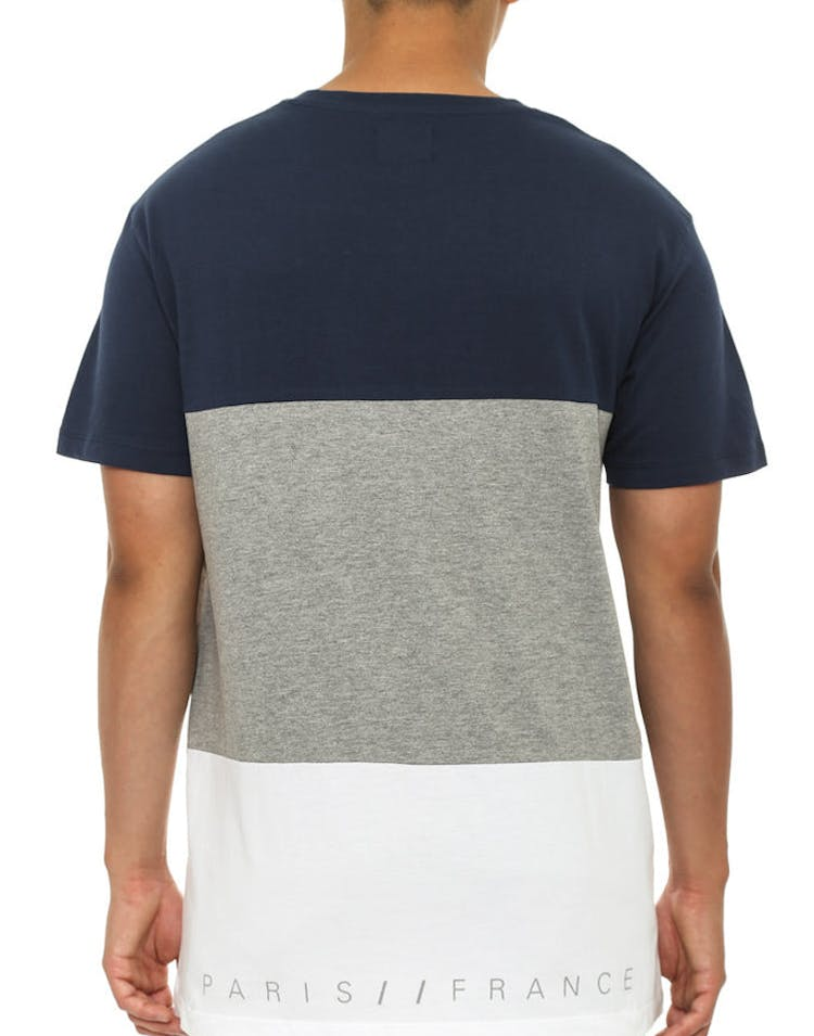 LE Tour Panel T Navy/grey/white