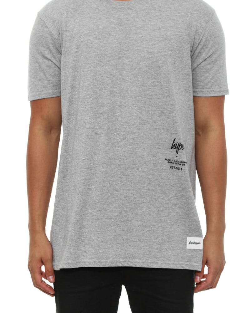 Placement Tee Grey