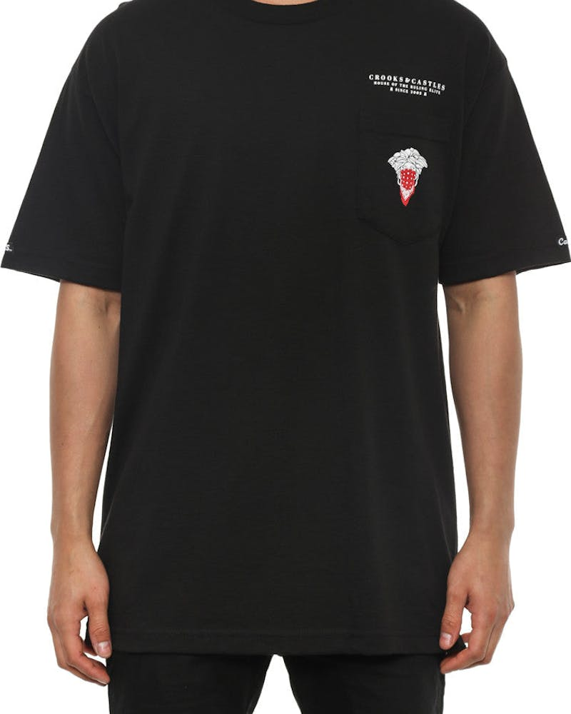 Bandito Medusa Pocket Tee Black