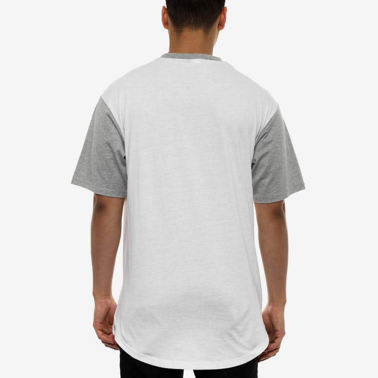Levels Football Tee Grey/white