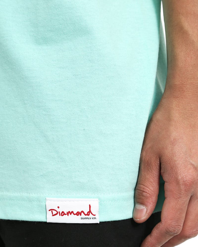 Dirty Mind Tee Turquoise