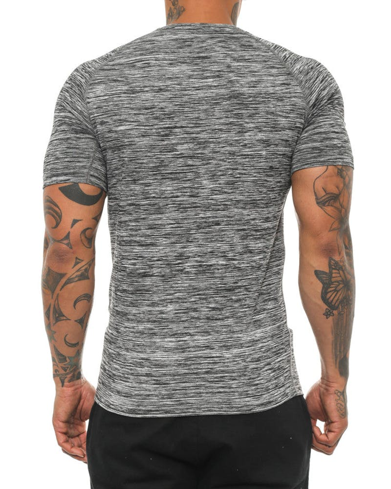 Mouline Compression Tee Grey