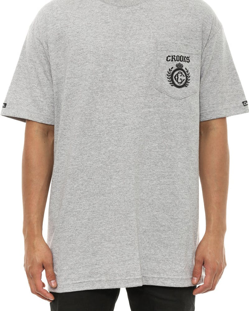 Wired Pocket Tee Grey