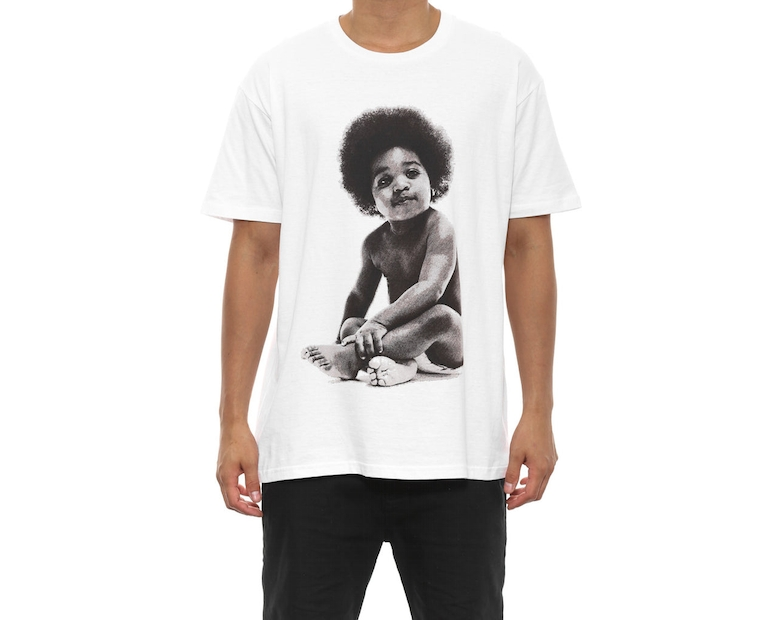 Baby Biggie Tee White