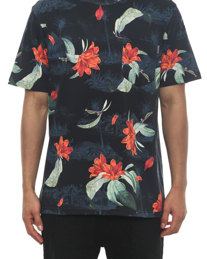 Tropic Pocket Tee Floral