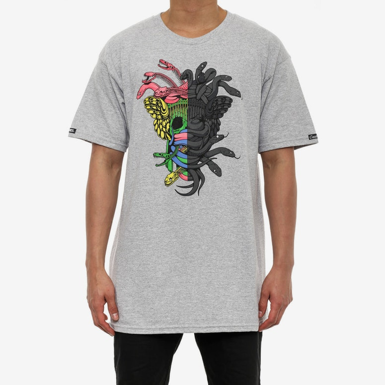 Dissected Medusa Tee Grey