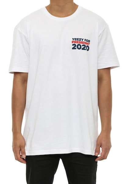 Yeezy for President SS T White