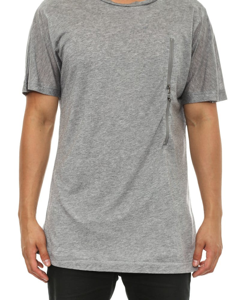 Butter Tee Heather Grey