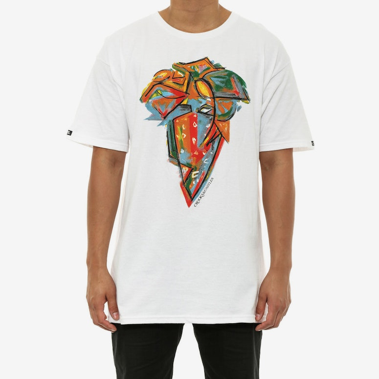 Crooks & Castles Portrait Tee White