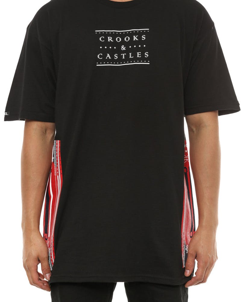 Ethnic Tech Crooks Tee Black