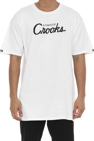 Team Crooks Tee White