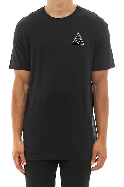 Huf Triple Triangle Tee F14 Black/white