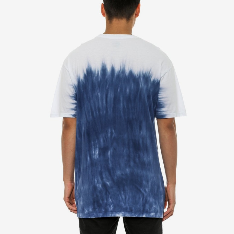 OG Logo Faded Dip Dye Tee Navy
