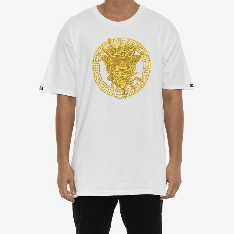 Metal Medusa Tee White