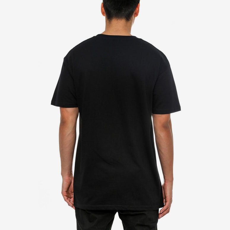 Woven C SS T Black