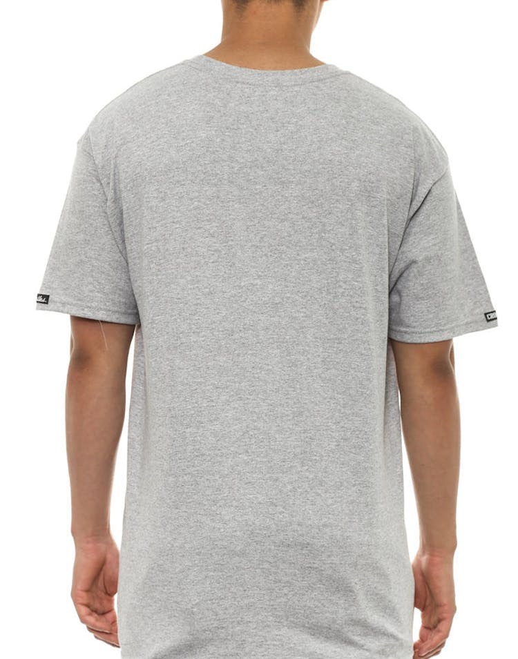 Core Puff Print Tee Grey