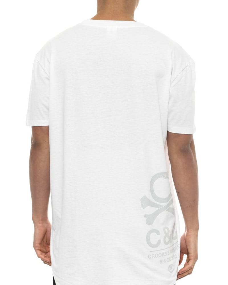 C-bones Scallop Tee White/grey