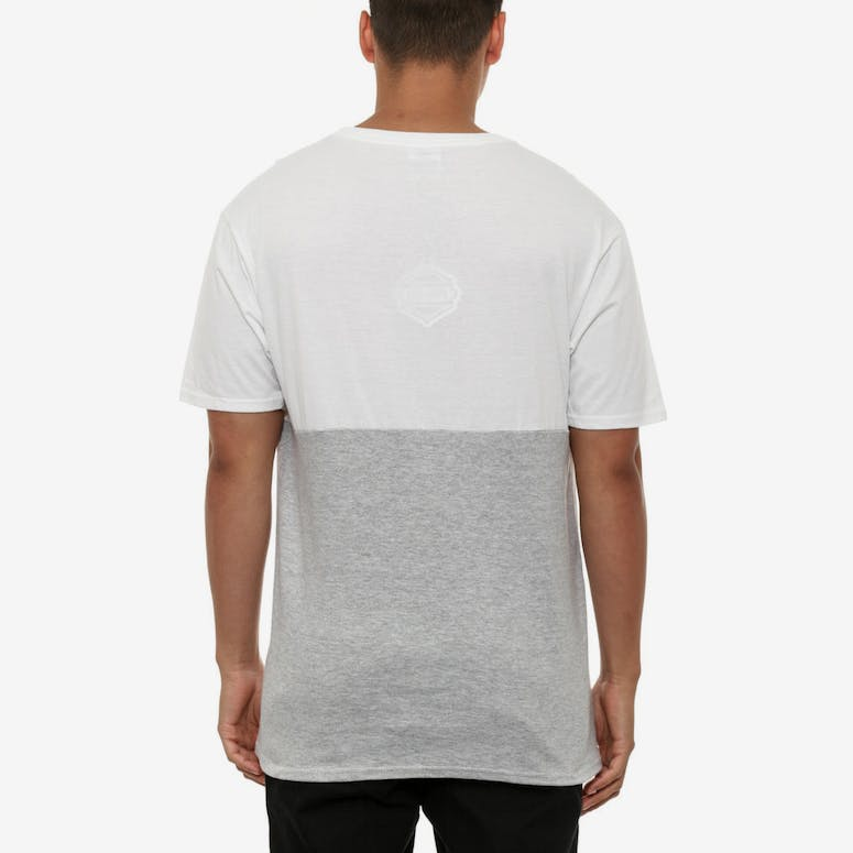 Multi Tee White/grey