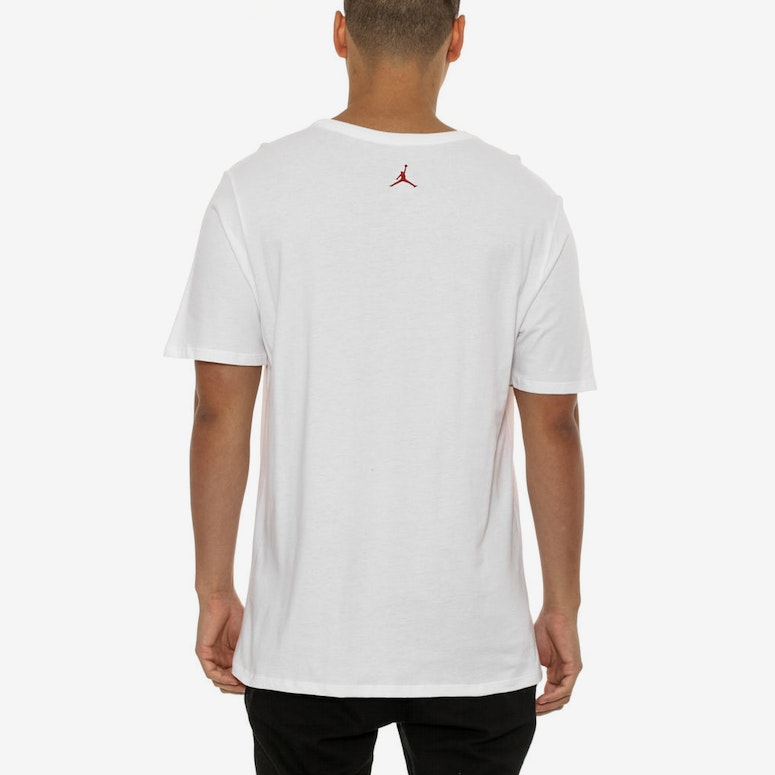 Air Jumpman Tee White/red