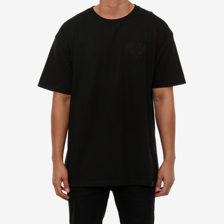 Black Out Brilliant Tee Black