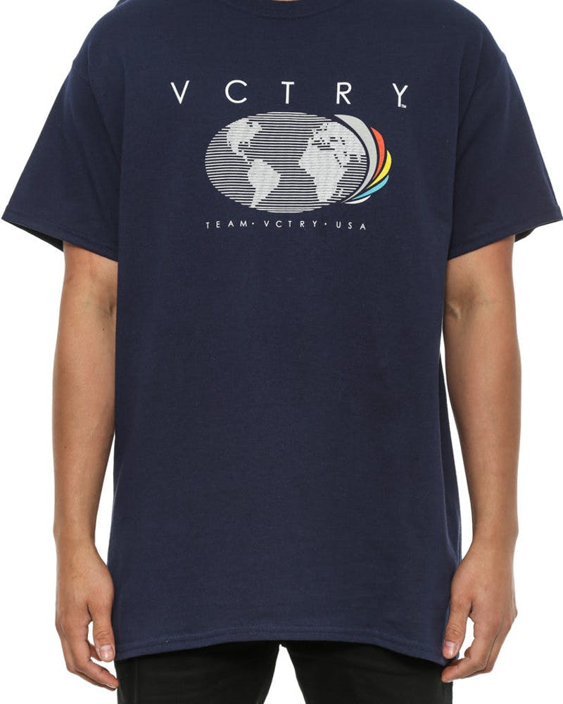World Sport Tee Navy