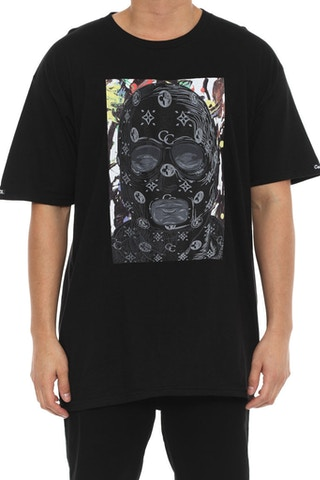 Abstract Bandit Tee Black