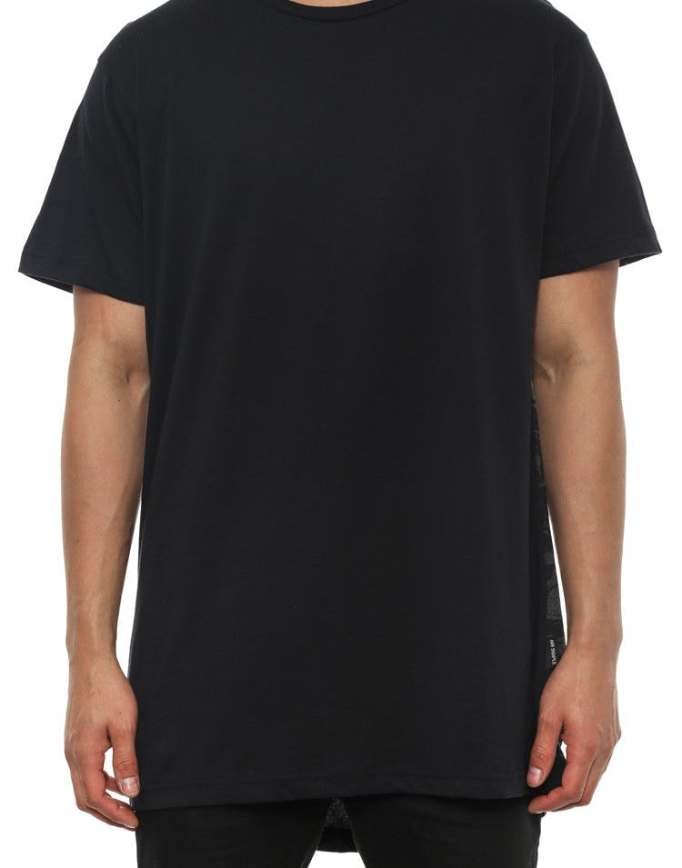 Finn Tee Black/white