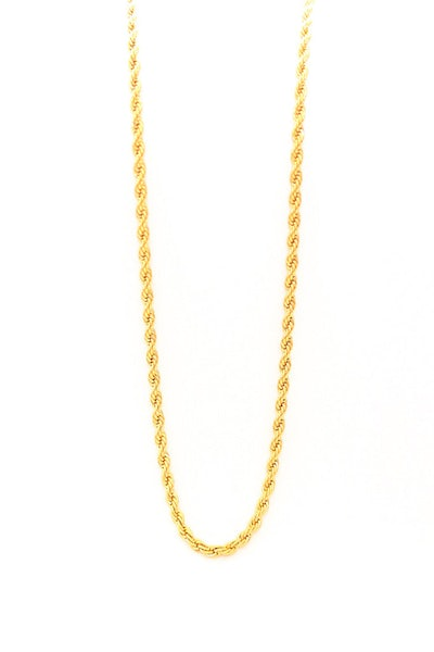 Veritas Rope 30in Gold