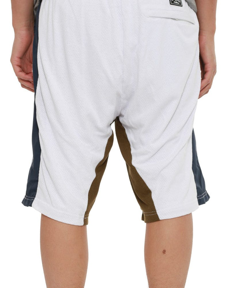 Hopper Sweat Short White/navy