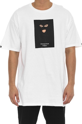 Crookstape Tee White
