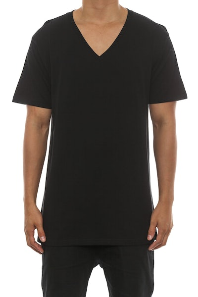 AS Colour Tarmack V-neck Black