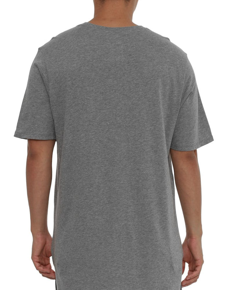 Futura Drop Hem Tee Grey