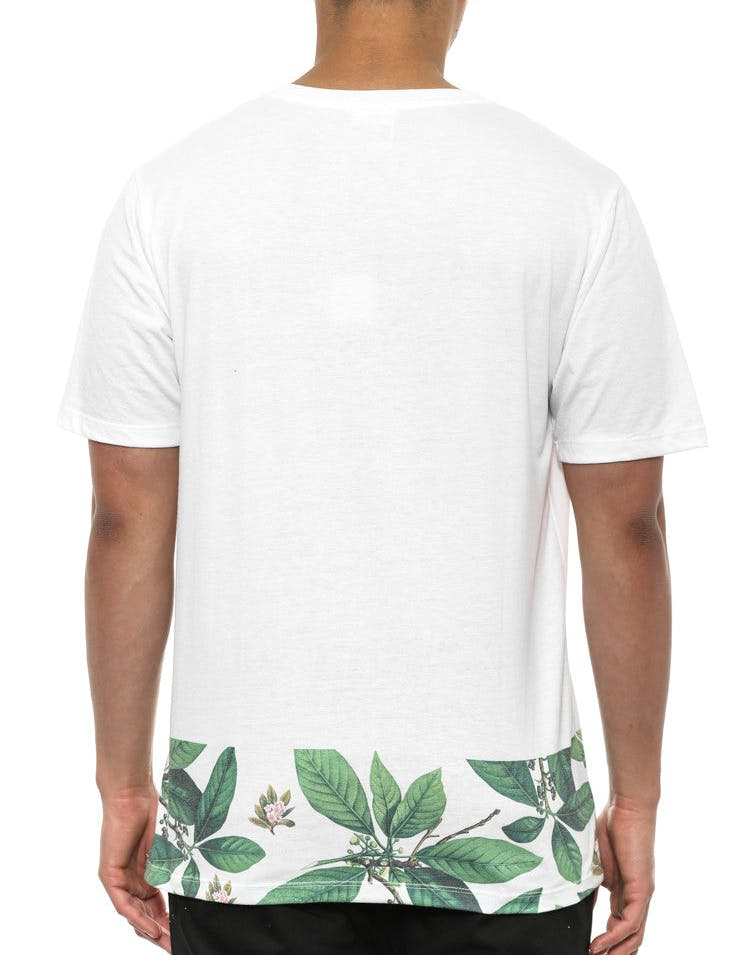 Leaves Bottom Sublimated White/floral