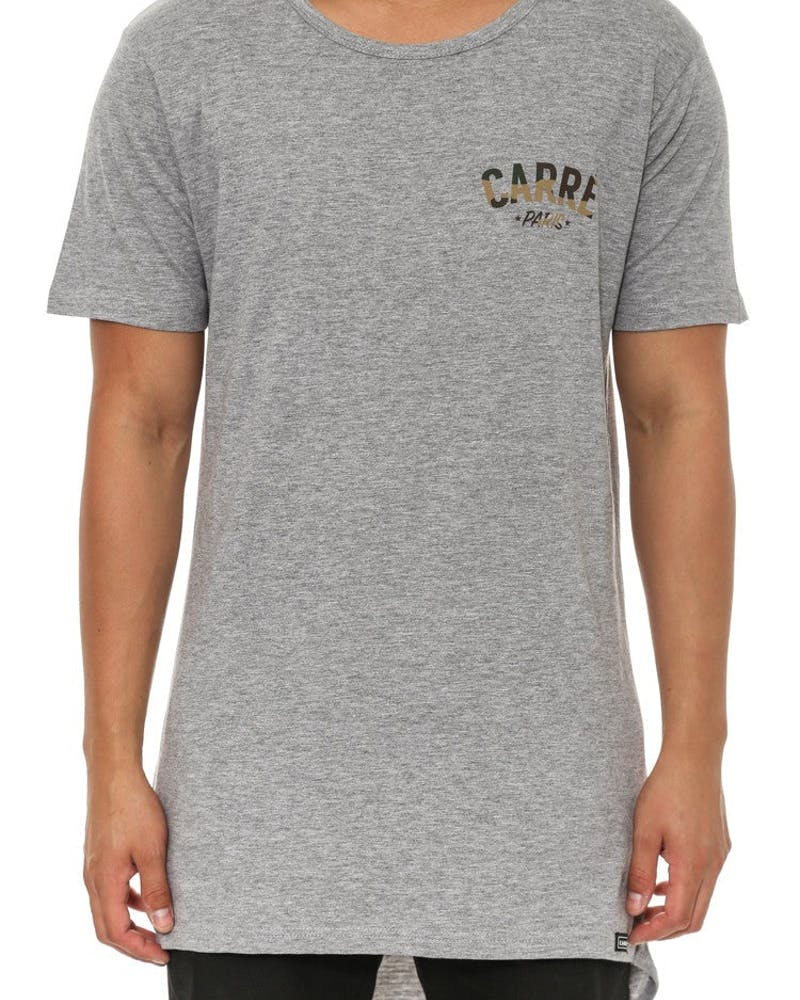 Paname Camo Droptail Grey Heather
