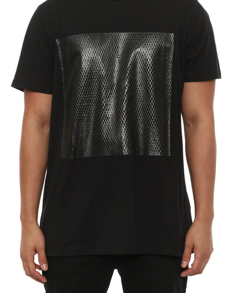 Mens Transfer Tee Black
