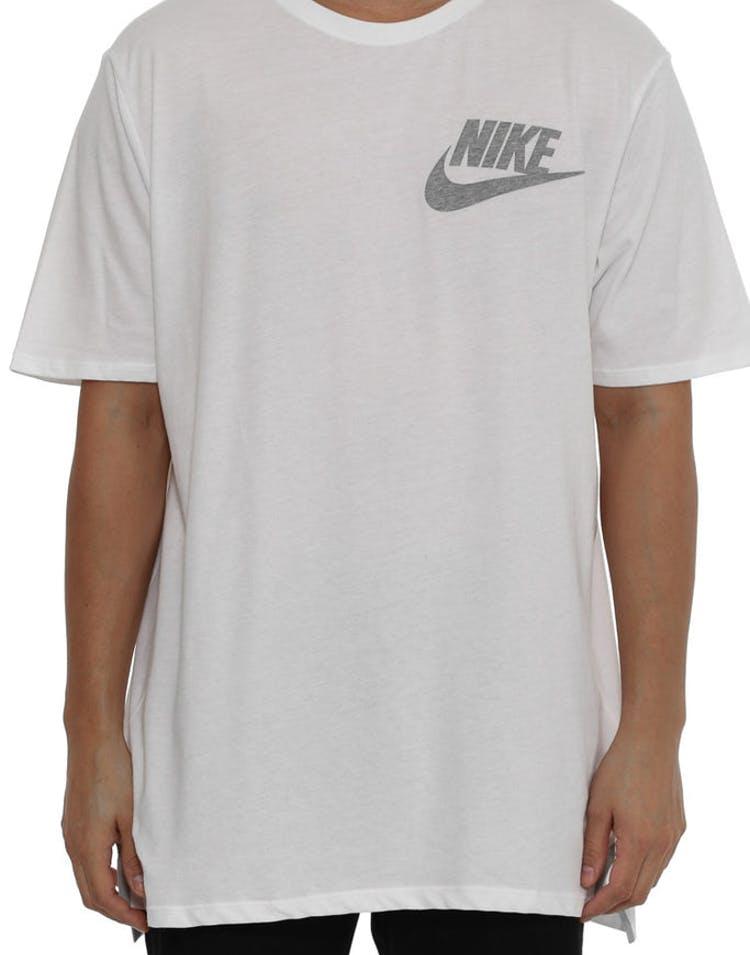 af1ff73c Nike Futura Drop Hem Tee White – Culture Kings