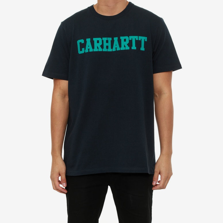 College Tee Navy/teal
