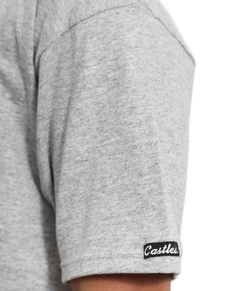 Core Logo Tee Grey/black